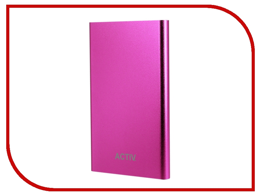 Аккумулятор Activ Vitality 4500mAh Pink 55049
