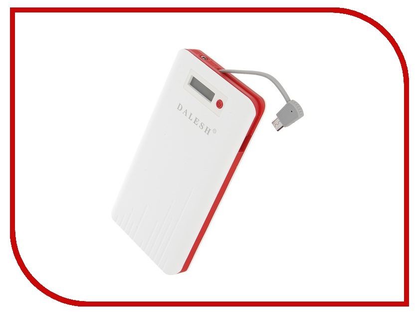 Аккумулятор Dalesh DLS-P15 6000 mAh White-Red 56815