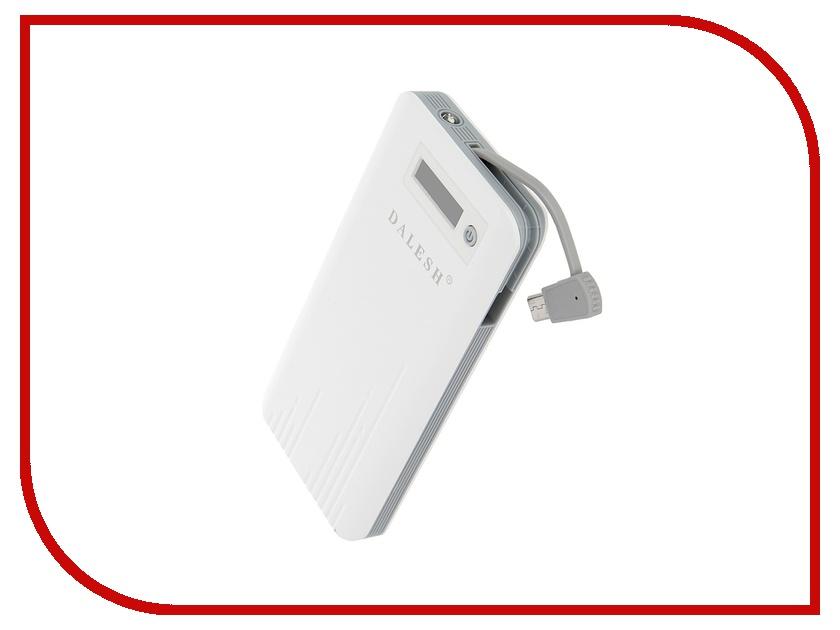 Аккумулятор Dalesh DLS-P15 6000 mAh White-Gray 56810<br>