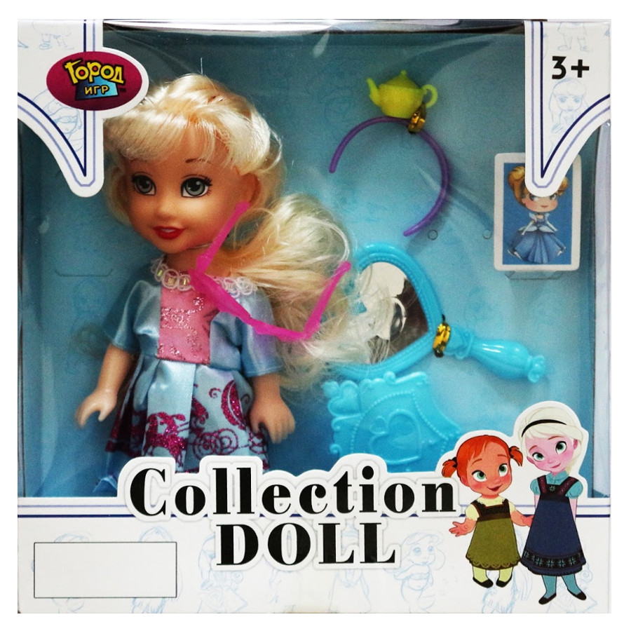 Кукла Город игр Collection Doll Виктория GI-6166 octavo oc 6166