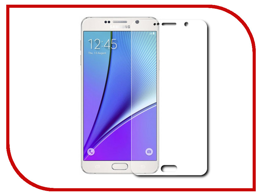 ��������� �������� ������ Samsung Galaxy Note 5 Activ Winter Special Edition Transparent 56314