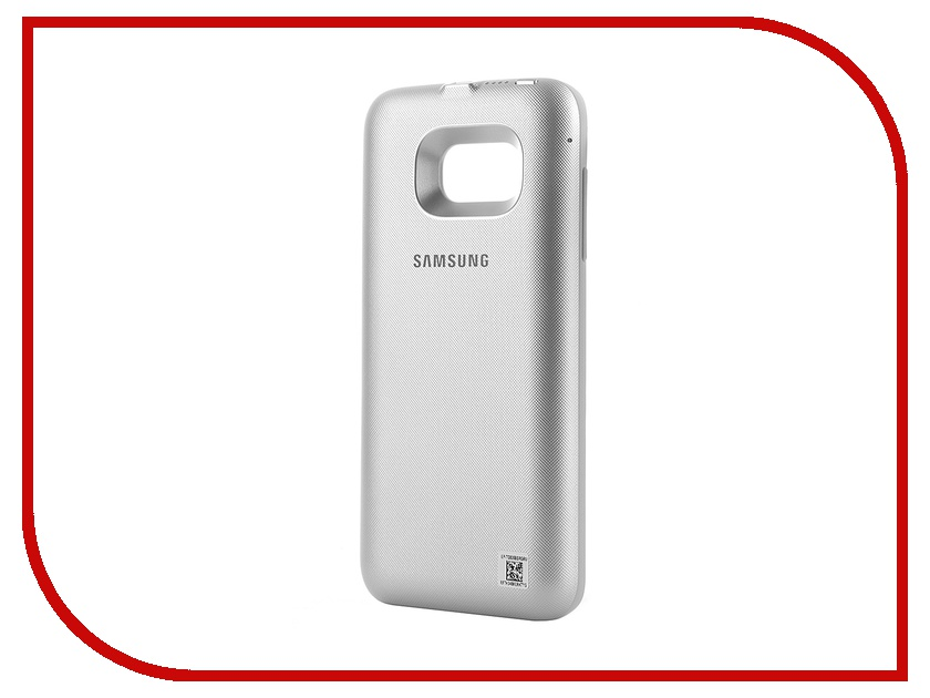 Аксессуар Чехол-аккумулятор Samsung Galaxy S7 Edge Power Cover Silver EP-TG935BSRGRU<br>