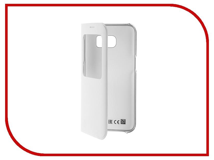 Аксессуар Чехол Samsung Galaxy S7 Edge S View Cover White EF-CG935PWEGRU<br>
