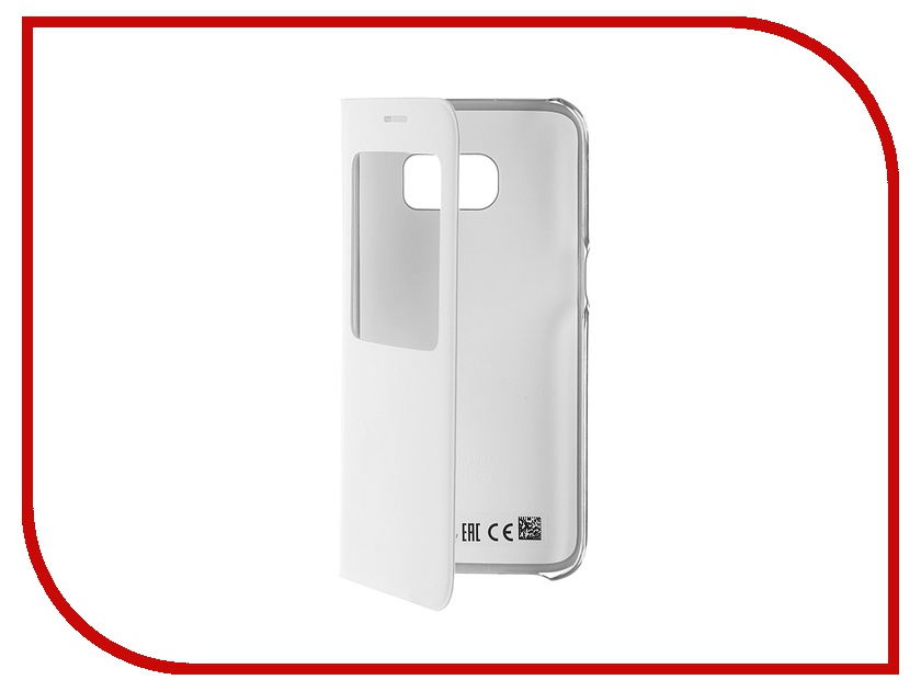 Аксессуар Чехол Samsung Galaxy S7 S View Cover White EF-CG930PWEGRU