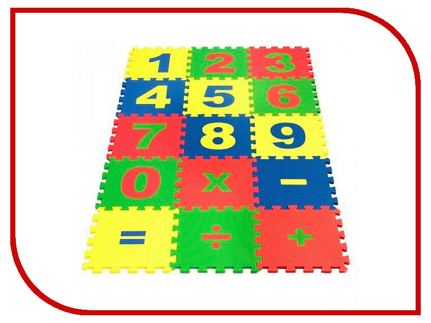 Игрушка Экопромторг Математика 25МПД1/Ц<br>