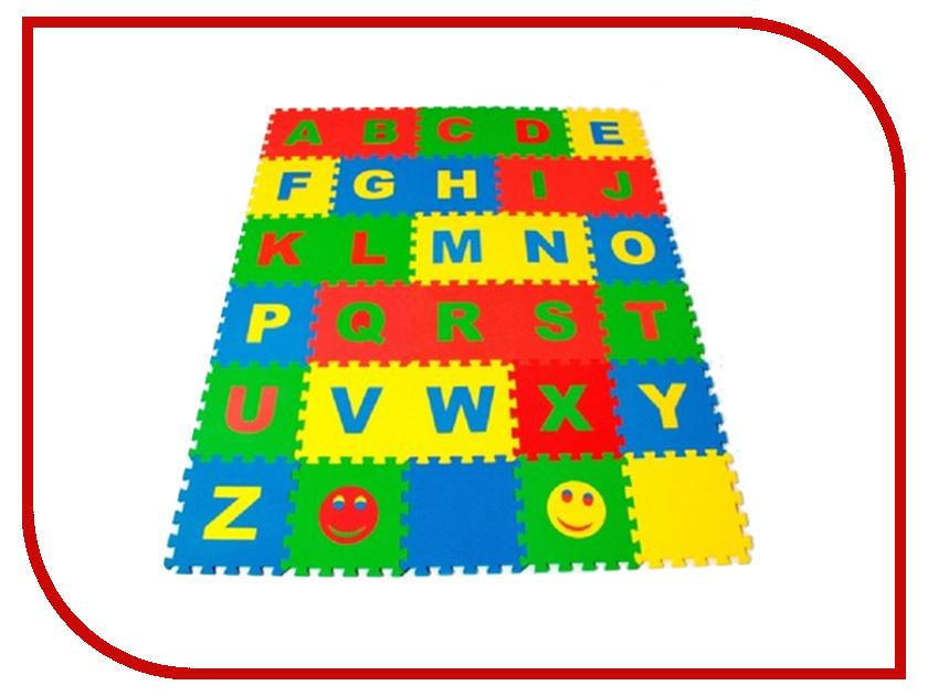 Развивающий коврик Экопромторг Английский алфавит 25МПД2/А развивающий коврик русский алфавит односторонний 200х180х0 5