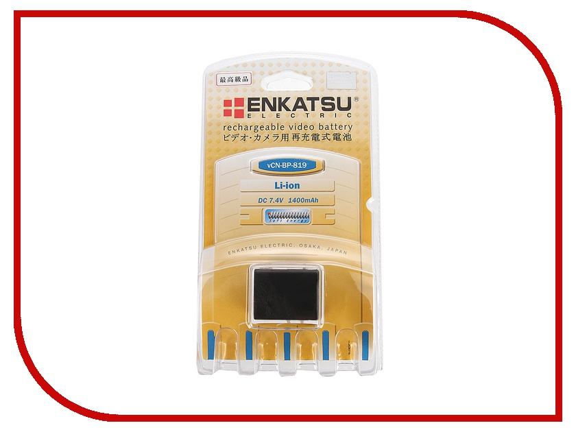 Zakazat.ru: Аккумулятор Enkatsu VCN BP-819