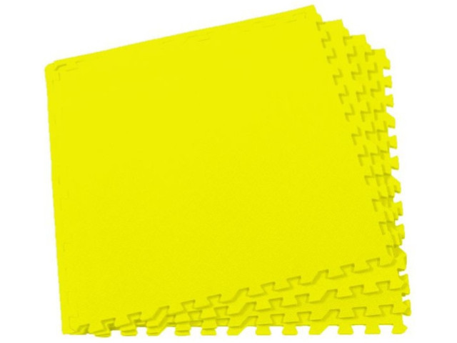 Развивающий коврик Экопромторг Мягкий пол для детской Yellow 60МП/120