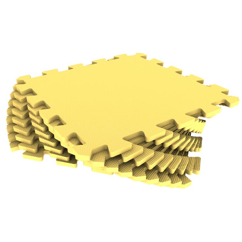 Развивающий коврик Экопромторг Мягкий пол для детской Yellow 30МП/120