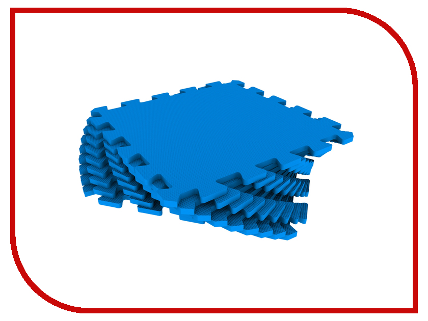 Развивающий коврик Экопромторг Мягкий пол для детской Blue 33МП/3005 коврик пазл для детей мягкий пол купить