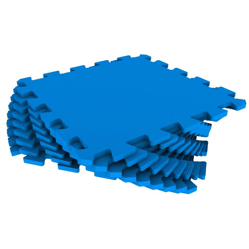 Развивающий коврик Экопромторг Мягкий пол для детской Blue 33МП/3005