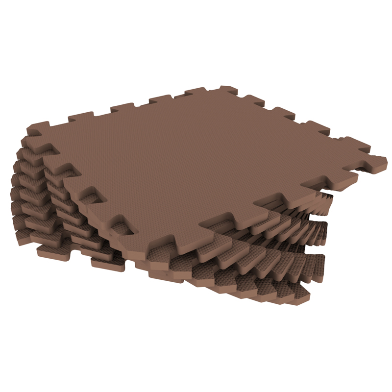 Развивающий коврик Экопромторг Мягкий пол для детской Brown 33МП/4625 4625 181
