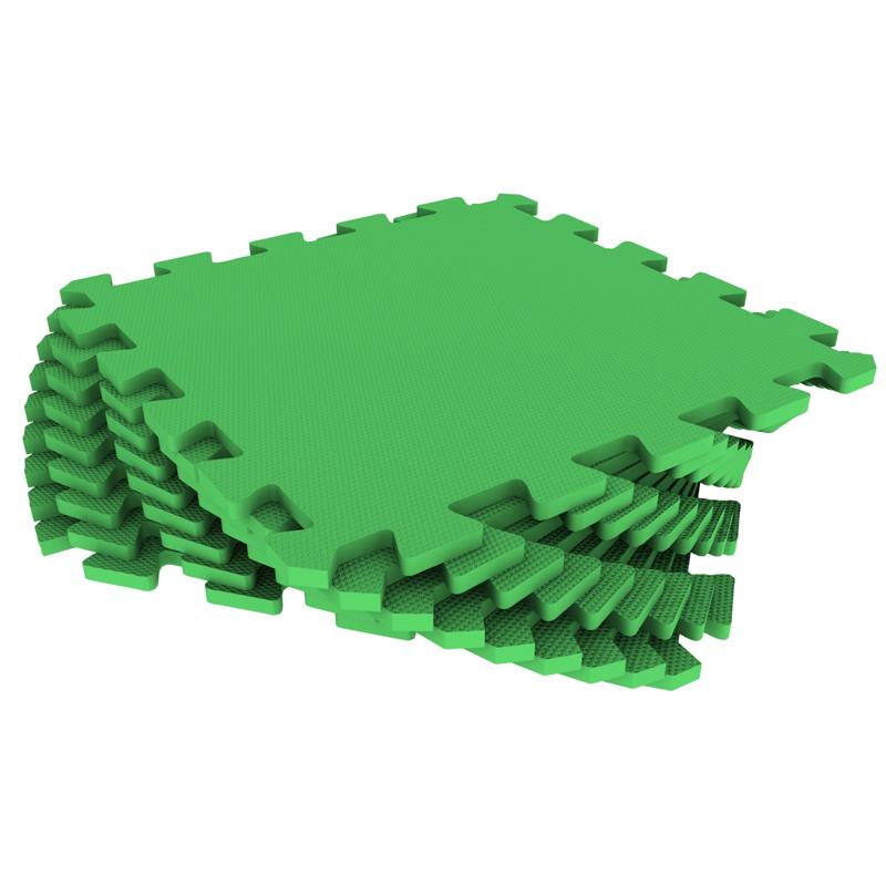 Развивающий коврик Экопромторг Мягкий пол для детской Green 33МП/361