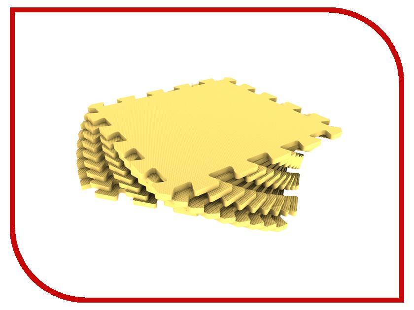 Развивающий коврик Экопромторг Мягкий пол для детской Yellow 33МП/120 коврик пазл для детей мягкий пол купить