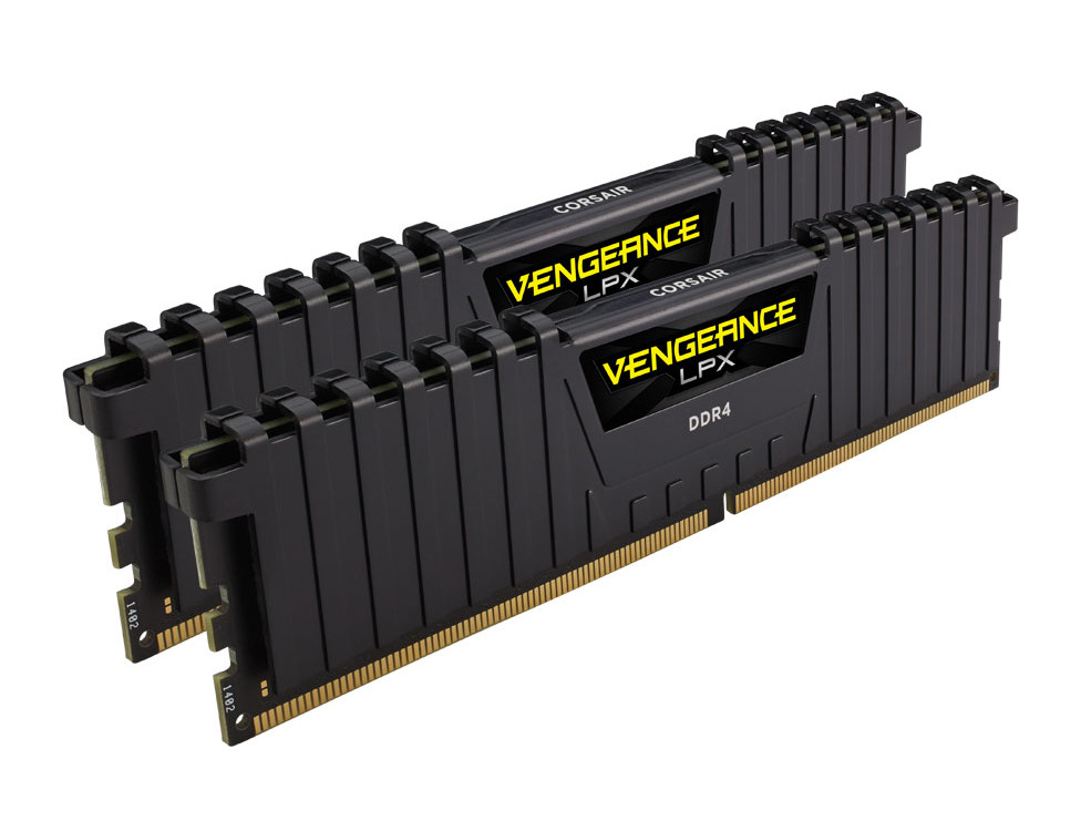 Модуль памяти Corsair Vengeance LPX DDR4 DIMM 2400MHz PC4-19200 CL16 - 16Gb KIT (2x8Gb) CMK16GX4M2A2400C16