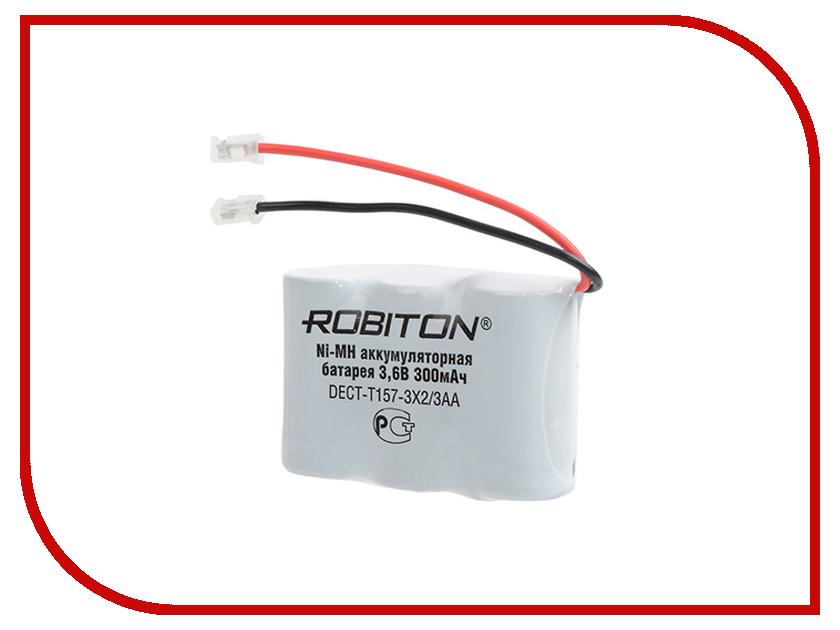 Аксессуар Аккумулятор Robiton DECT-T157-3X2/3AA
