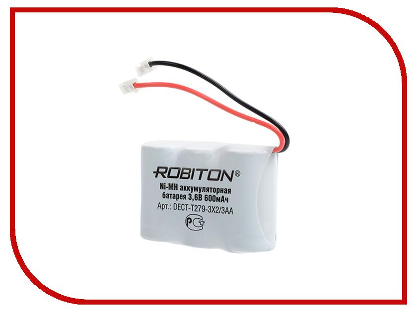 Аксессуар Аккумулятор Robiton DECT-T279-3X2/3AA