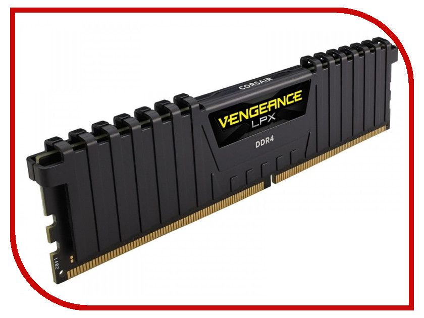 Модуль памяти Corsair Vengeance LPX DDR4 DIMM 2400MHz PC4-19200 CL14 - 16Gb CMK16GX4M1A2400C14