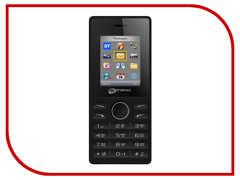 Сотовый телефон Micromax X405 Black<br>