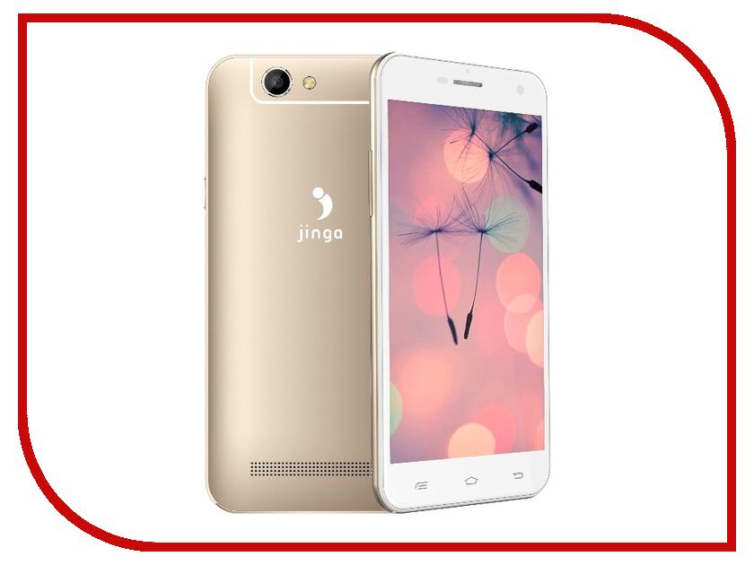Сотовый телефон Jinga Basco M500 4G Gold<br>