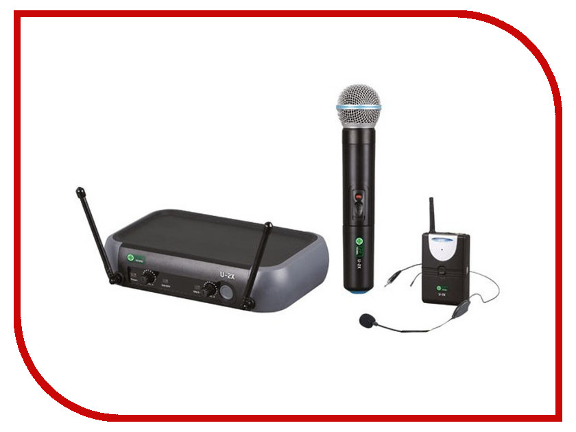 Радиомикрофон Eco by Volta U-2X (716.90/622.665)