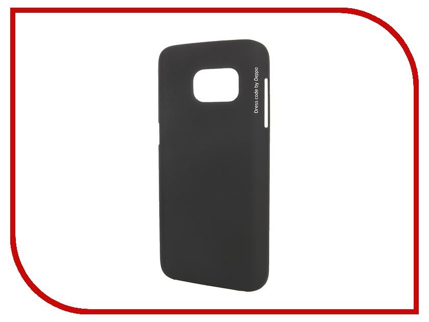 Аксессуар Чехол-накладка Samsung Galaxy S7 Deppa Air Case Black 83238<br>