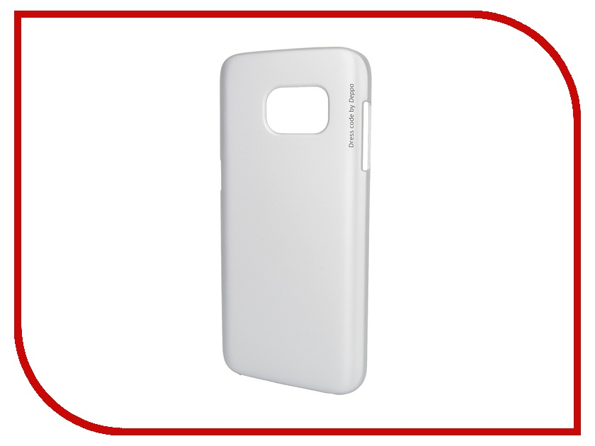 Аксессуар Чехол-накладка Samsung Galaxy S7 Deppa Air Case Silver 83240