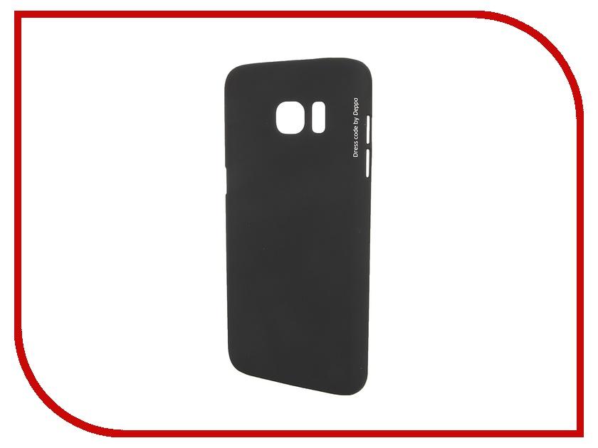 Аксессуар Чехол-накладка Samsung Galaxy S7 Edge Deppa Air Case Black 83241<br>