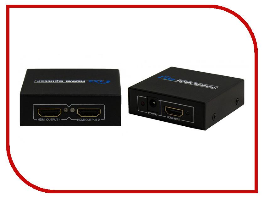 Аксессуар Palmexx 1HDMIx2HDMI 1080P 3D ver 1.4 PX/HDMI-2<br>