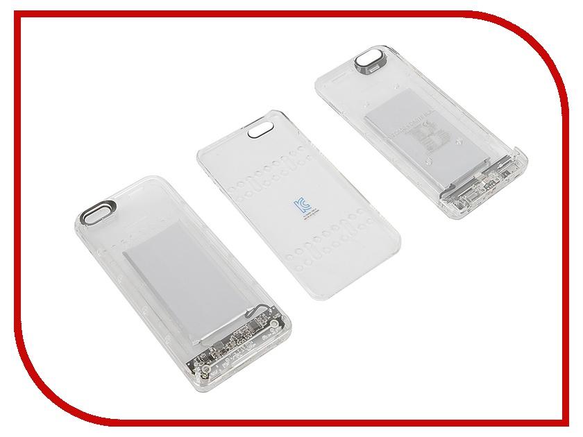 Аксессуар Чехол-аккумулятор Boostcase 2700 mAh для iPhone 6 Plus / 6S Plus Transparent BCH2700IP6P-CLR<br>