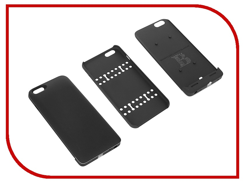 Аксессуар Чехол-аккумулятор Boostcase 2700 mAh для iPhone 6 Plus / 6S Plus Black BCH2700IP6P-BLK<br>