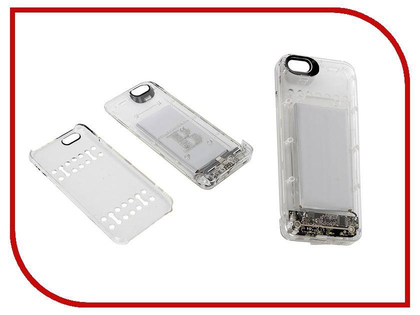 Аксессуар Чехол-аккумулятор Boostcase 2200 mAh для iPhone 6 / 6S Transparent BCH2200IP6-CLR<br>
