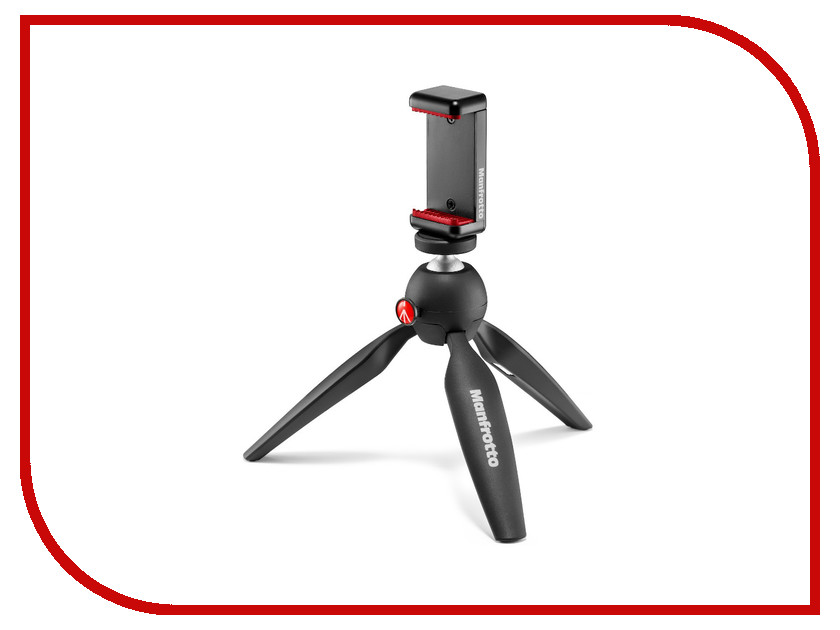 ����-������ Manfrotto Mini Tripod Black MKPIXICLAMP-BK