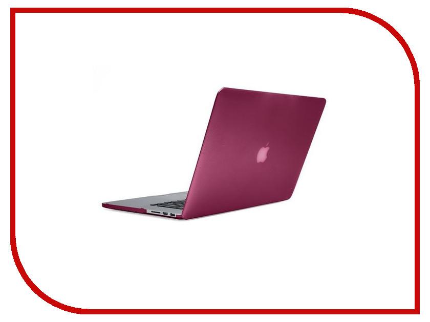 Аксессуар Чехол 15.0-inch Incase Hardshell для APPLE MacBook Pro Retina Pink CL60623
