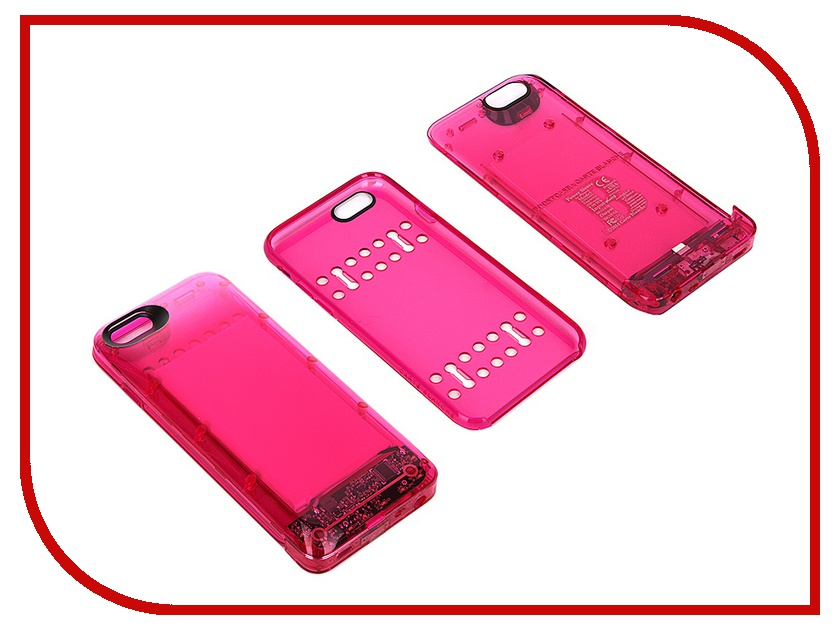 Аксессуар Чехол-аккумулятор Boostcase 2700 mAh для iPhone 6 / 6S Transparent Pink BCH2700IP6-PTM<br>