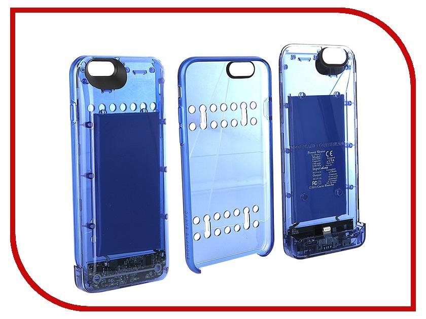��������� �����-����������� Boostcase 2700 mAh ��� iPhone 6 / 6S Transparent Blue BCH2700IP6-SPH