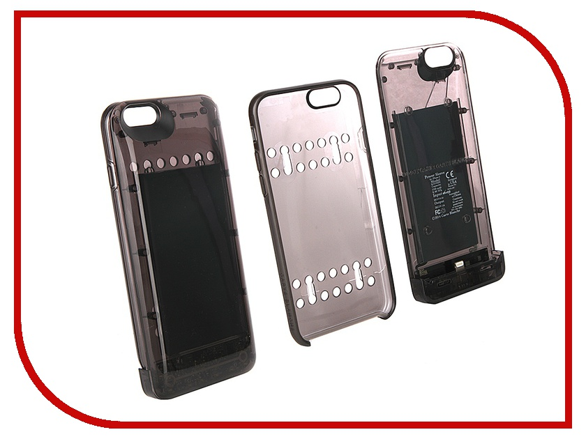 Аксессуар Чехол-аккумулятор Boostcase 2700 mAh для iPhone 6 / 6S Transparent Black BCH2700IP6-ONX kicute new 2017 2018 calendar a4 leather notebook schedule daily weekly monthly planner agenda organizer diary stationery gift