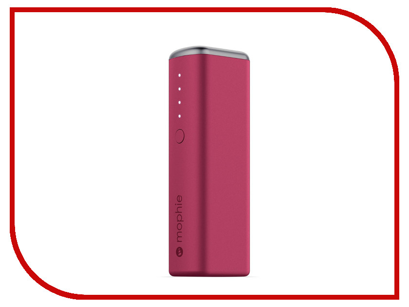 Аккумулятор Mophie Power Reserve 1X 2600 mAh Pink 3352<br>