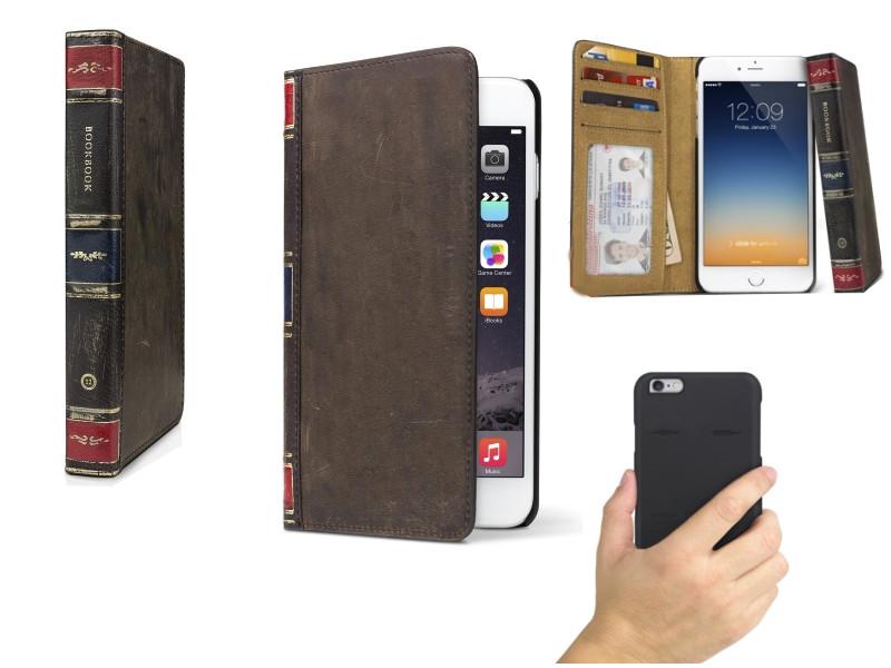 Аксессуар Чехол Twelve South BookBook для iPhone 6 Plus Brown 12-1434<br>