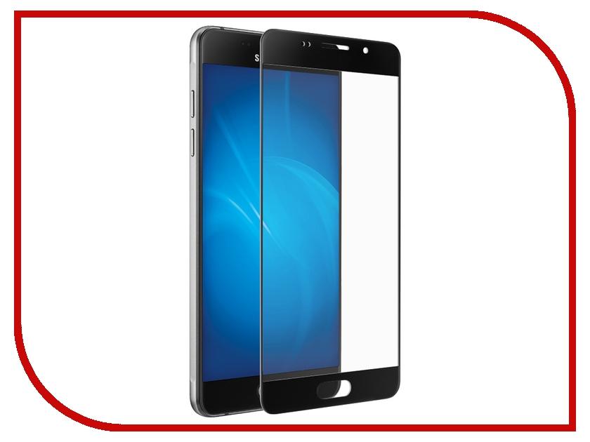 Аксессуар Закаленное стекло Samsung Galaxy A7 2016 DF sColor-04 Black<br>