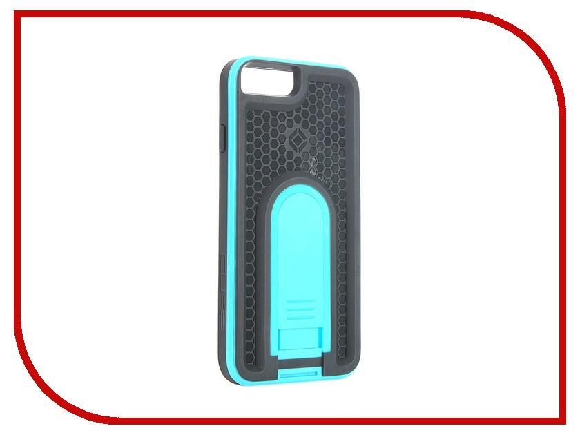 Аксессуар Чехол X-Guard для iPhone 6 с брызгозащитным кожухом Blue<br>
