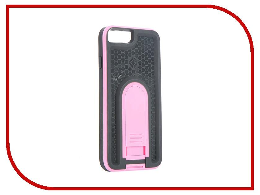 Аксессуар Чехол X-Guard для iPhone 6 с брызгозащитным кожухом Pink<br>