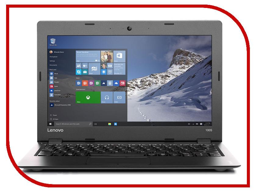 Ноутбук Lenovo IdeaPad 100S-11 80R2007JRK Intel Atom Z3735F 1.3 GHz/2048Mb/64Gb SSD/No ODD/Intel HD Graphics/Wi-Fi/Bluetooth/Cam/11.6/1366x768/Windows 10