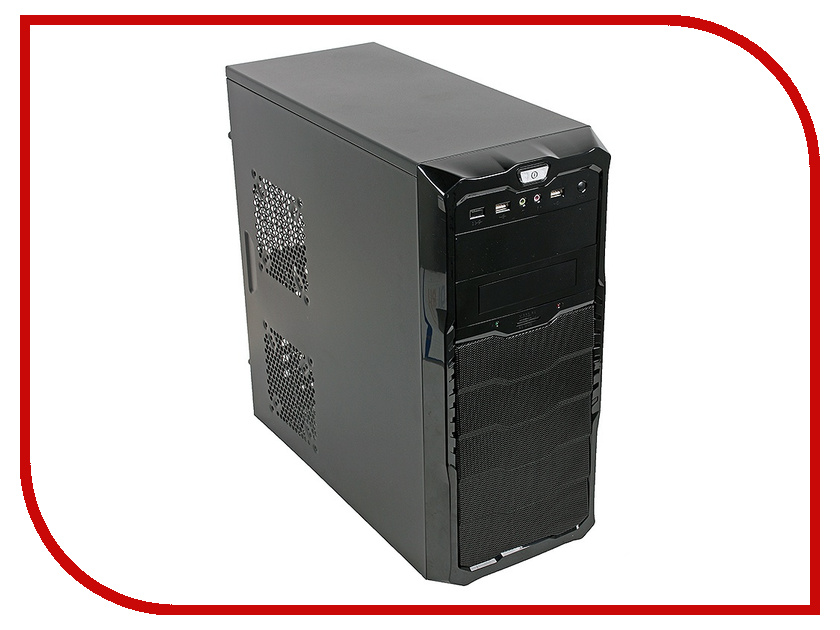 Корпус 3Cott 4030 ATX 450W Black