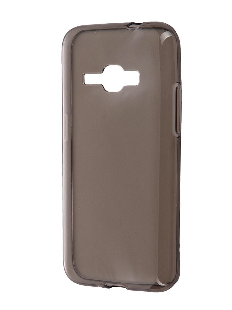 Аксессуар Чехол Samsung Galaxy J1 (2016) iBox Crystal Grey<br>