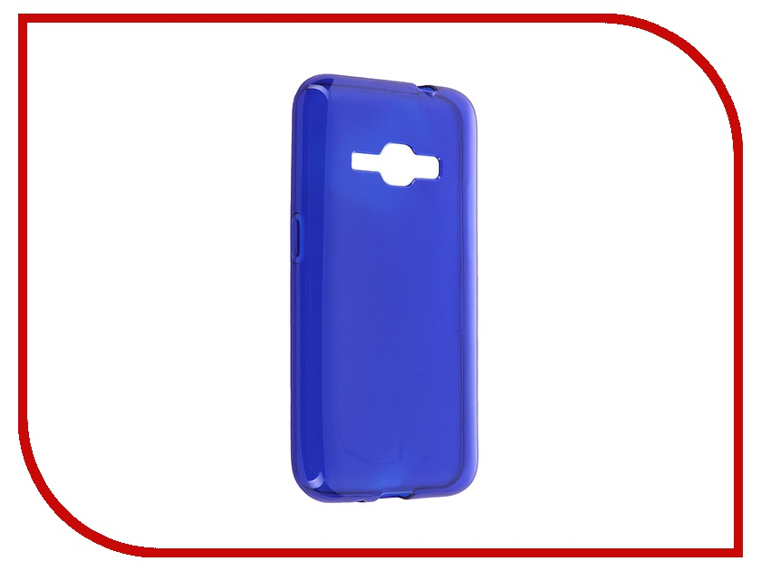 Аксессуар Чехол Samsung Galaxy J1 (2016) iBox Crystal Blue