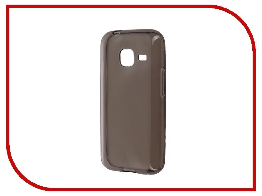 Аксессуар Чехол-накладка Samsung Galaxy J1 mini (2016) iBox Crystal Grey<br>