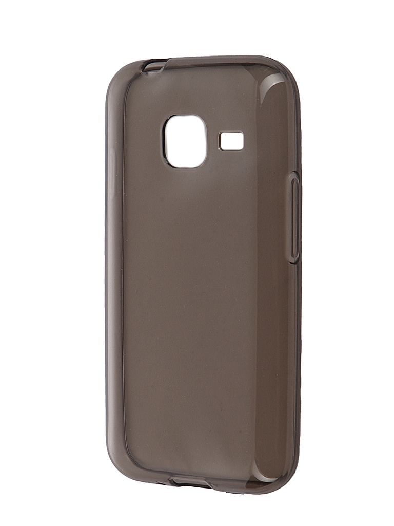 Аксессуар Чехол Samsung Galaxy J1 mini (2016) iBox Crystal Grey<br>