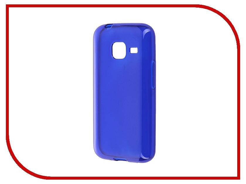 Аксессуар Чехол-накладка Samsung Galaxy J1 mini (2016) iBox Crystal Blue<br>