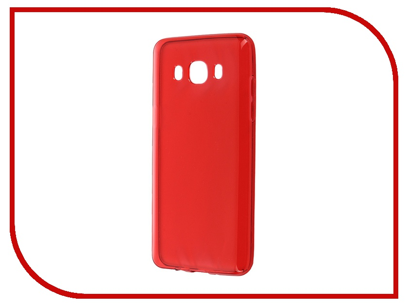 Аксессуар Чехол-накладка Samsung Galaxy J5 (2016) iBox Crystal Red<br>